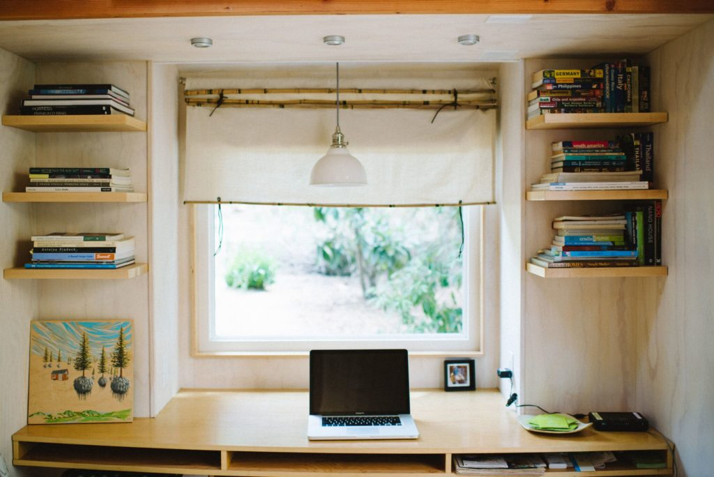 Working From Home How To Create A Tiny Home Office Tiny House Plans