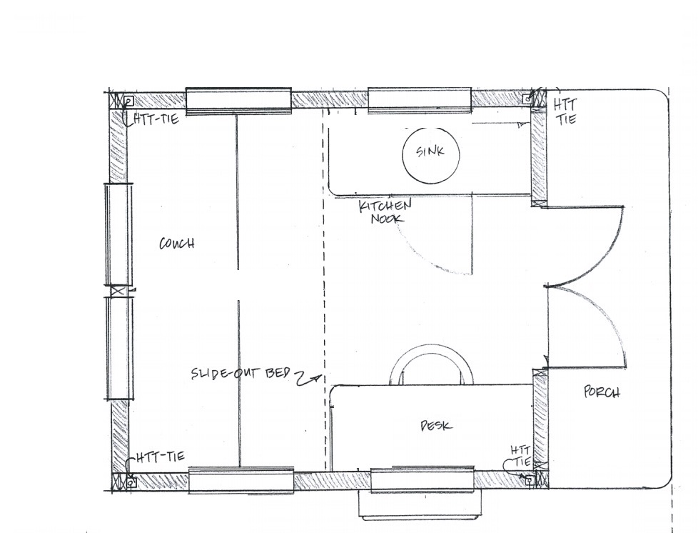 Vardo Tiny House Floor Plan