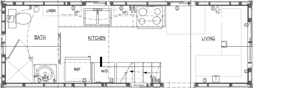 hOMe 24' floor plan