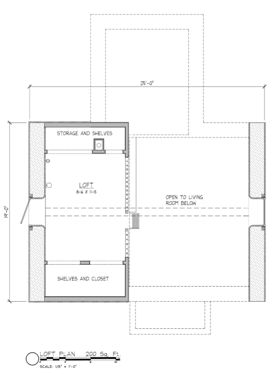 Fine Applegate Cottage Straw Bale Home 34X25 Tiny House Plans Interior Design Ideas Tzicisoteloinfo