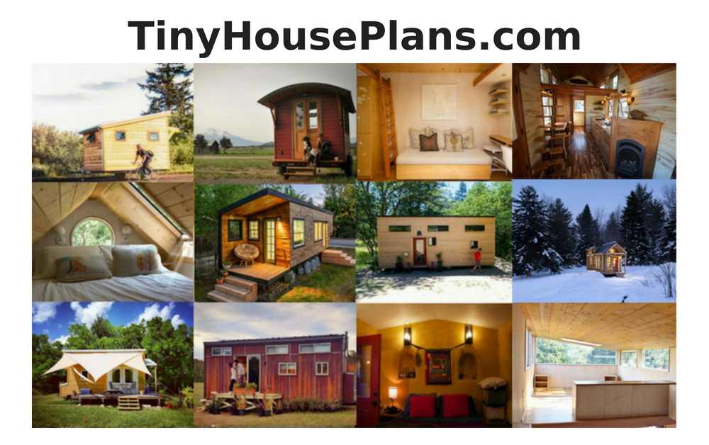 Tiny House Plans - The #1 Resource For Tiny House Plans On The Web on pvc pipe playhouse plans, built-in furniture plans, house plans, floor plans,