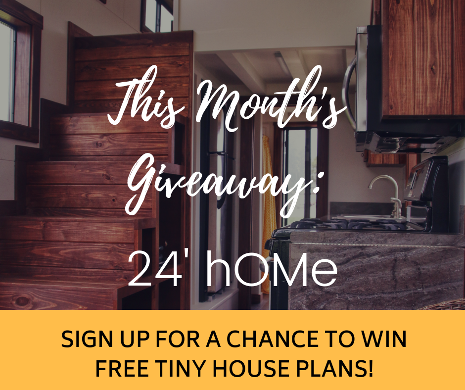 Free Tiny House Plans Monthly Sweepstakes - Tiny House Plans