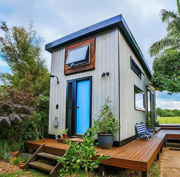 a home design building a tiny house cost or small house builder eyes The Byron Tiny House is a stunning, modern Australian Tiny House designed  by Nadia Marshall, where she lives with her husband, Kester and their  Australian ...