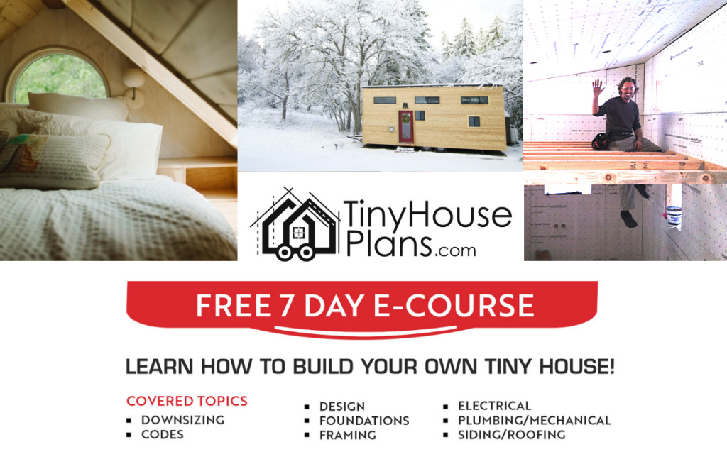 TinyHousePlans.com Free Ecourse Pop Up Graphic