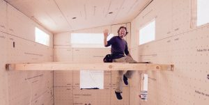 Andrew Morrison tiny house builder