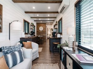 Cargo Home Tiny House Living Room