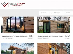 Villa Stay tiny house rental company logo