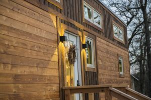 hOMe 28' Tiny House Income Rental The Montana Escape